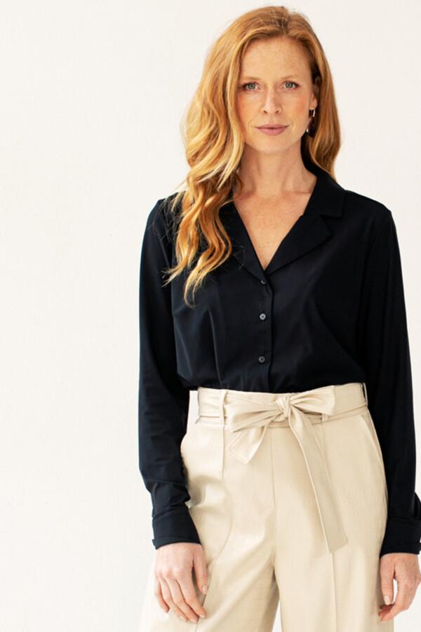 Lilly blouse - dark blue