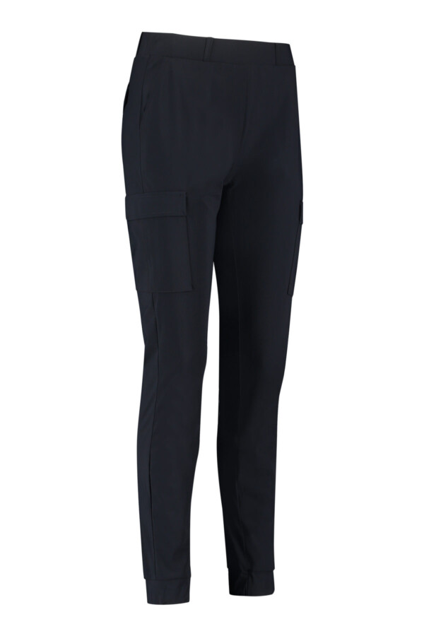 Loose cargo trousers - dark blue