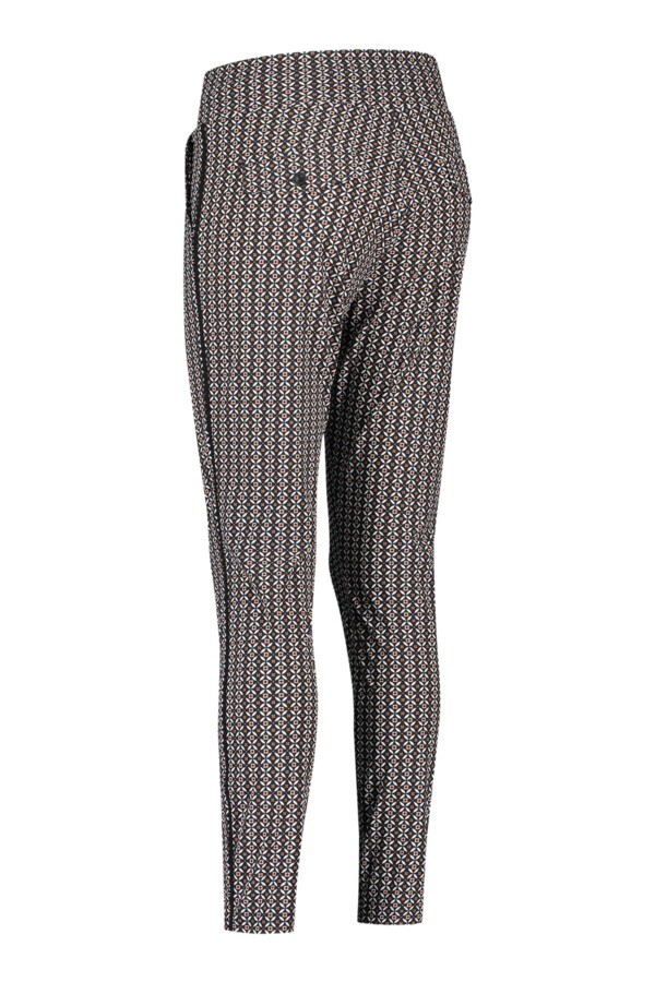 Road royal trousers - black-dusty rose