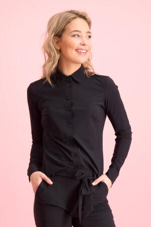 Poppy blouse - black