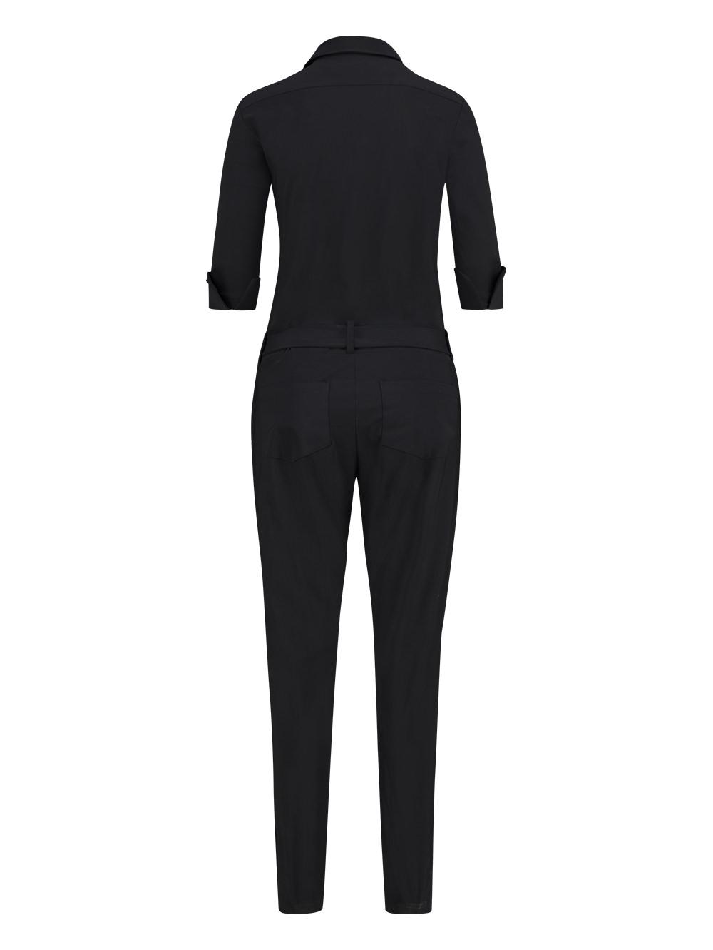 Angelique jumpsuit 3/4 - black