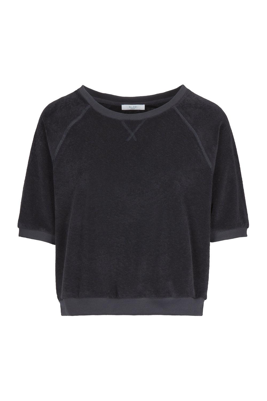 Neva slub sweater - jet black