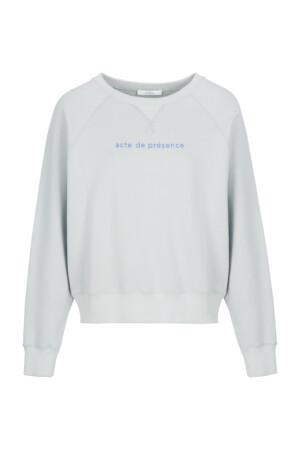 Eve sweater organic - illu grey