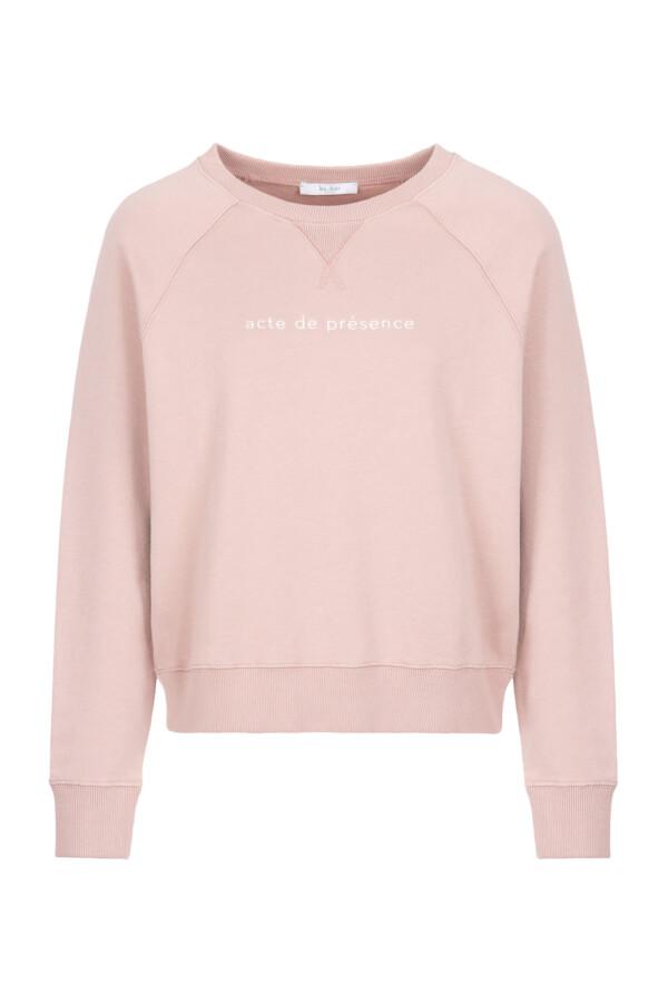 Eve sweater organic - ash rose