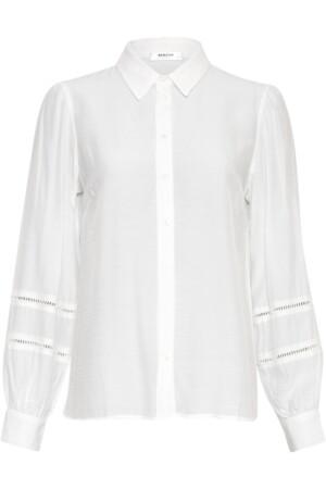 Ellene Melody LS Shirt - Egret