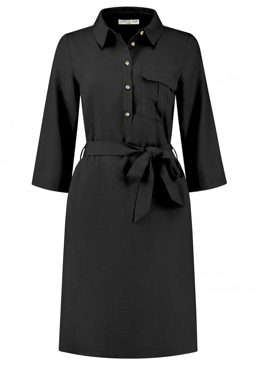 Tammy Dress - Black mousseline