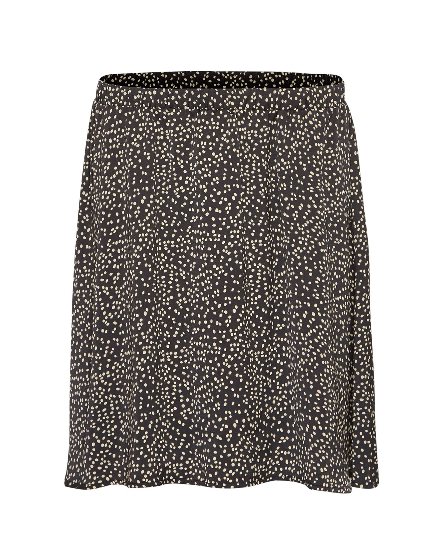 Talla Beach Skirt AOP - Black dot