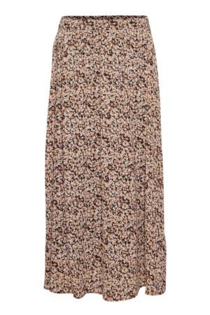 Merila Rikkelie Skirt - Black dots