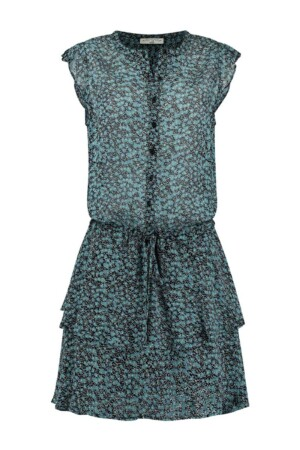 Blair Dress - Blue flowers