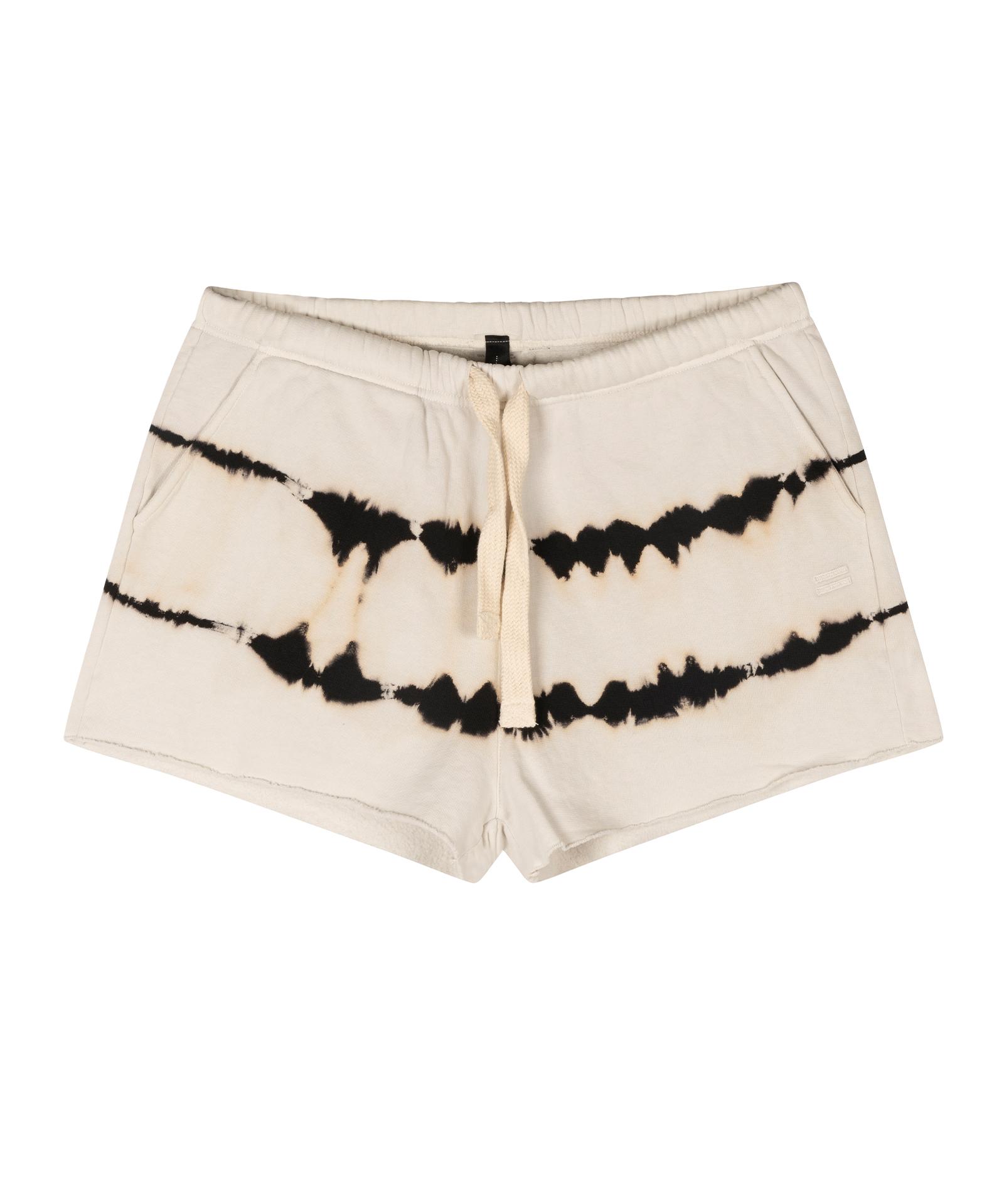 Shorts Tie Dye - Silver white