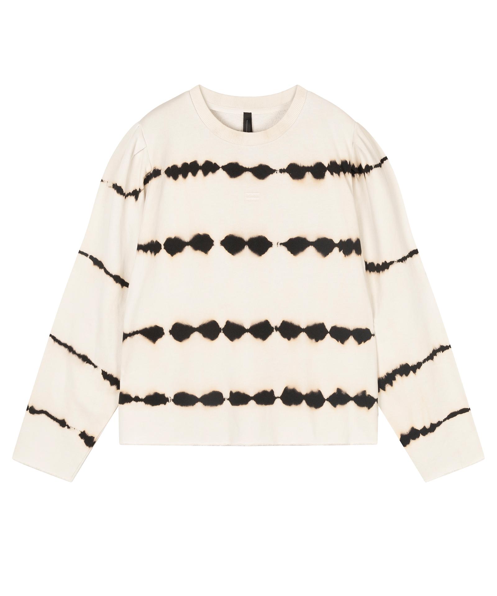 Butterfly Sweater Tie Dye - Silver white
