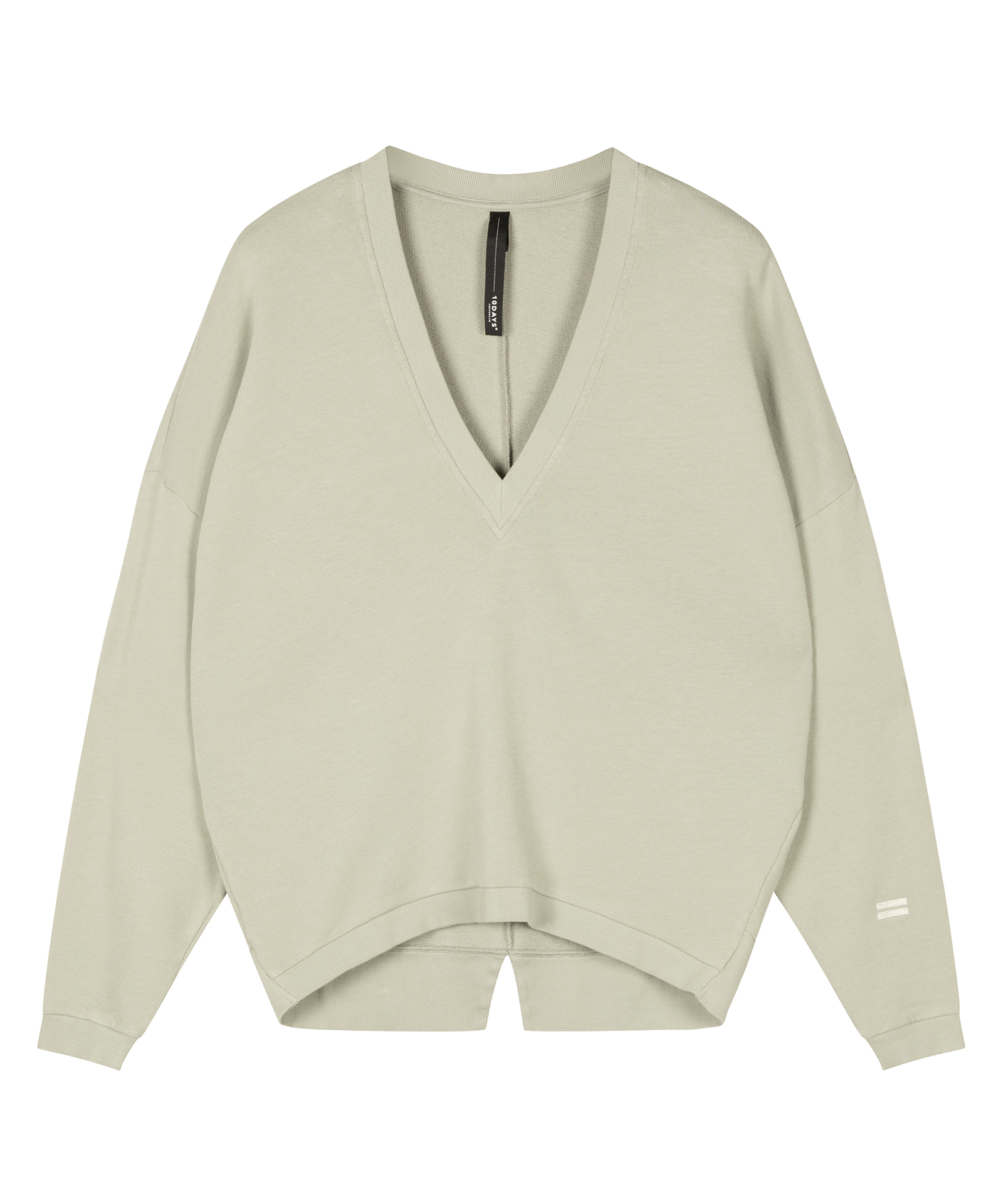 V-neck Sweater - Pistache