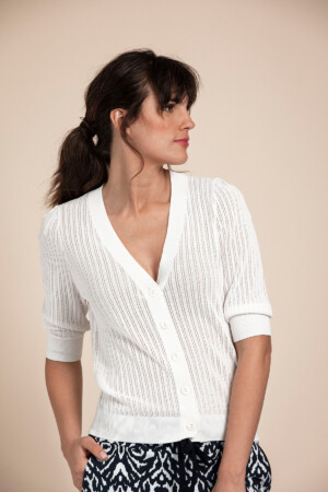Famke Cardigan - Off white1