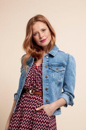 Sissy Organic Jeans Jacket - Light jeans blue