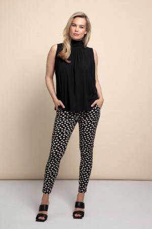 Stairsup Dot Trousers - Black/sahara