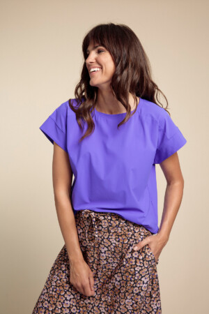 Nuria T-shirt - Mauve