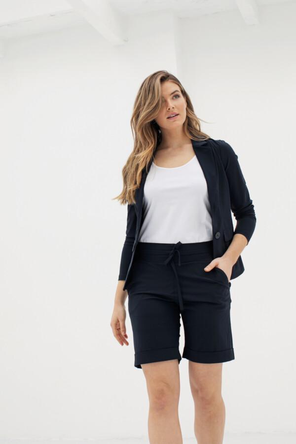 Bermuda Trousers - Dark blue