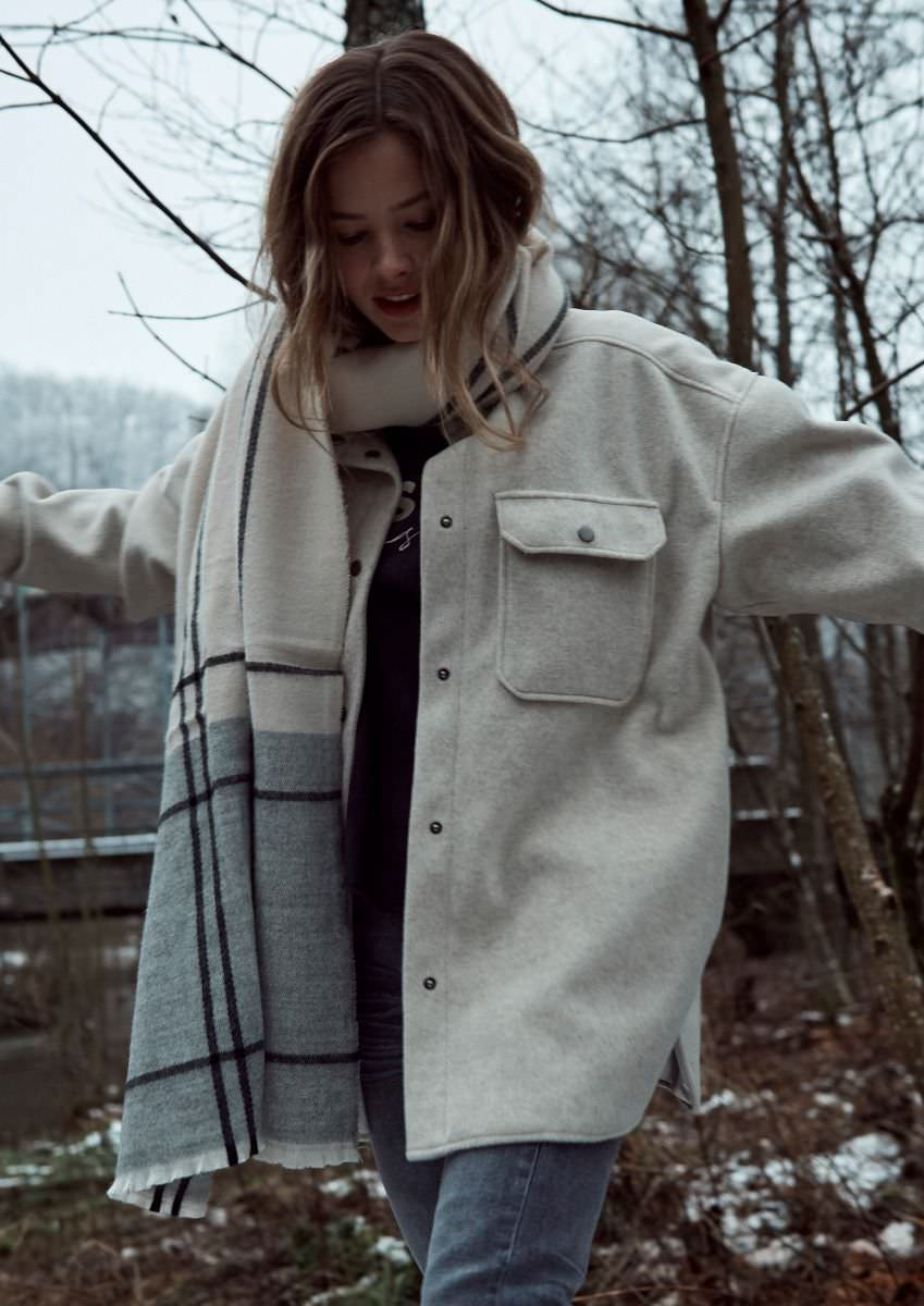 Marly Jacket - Beige melange
