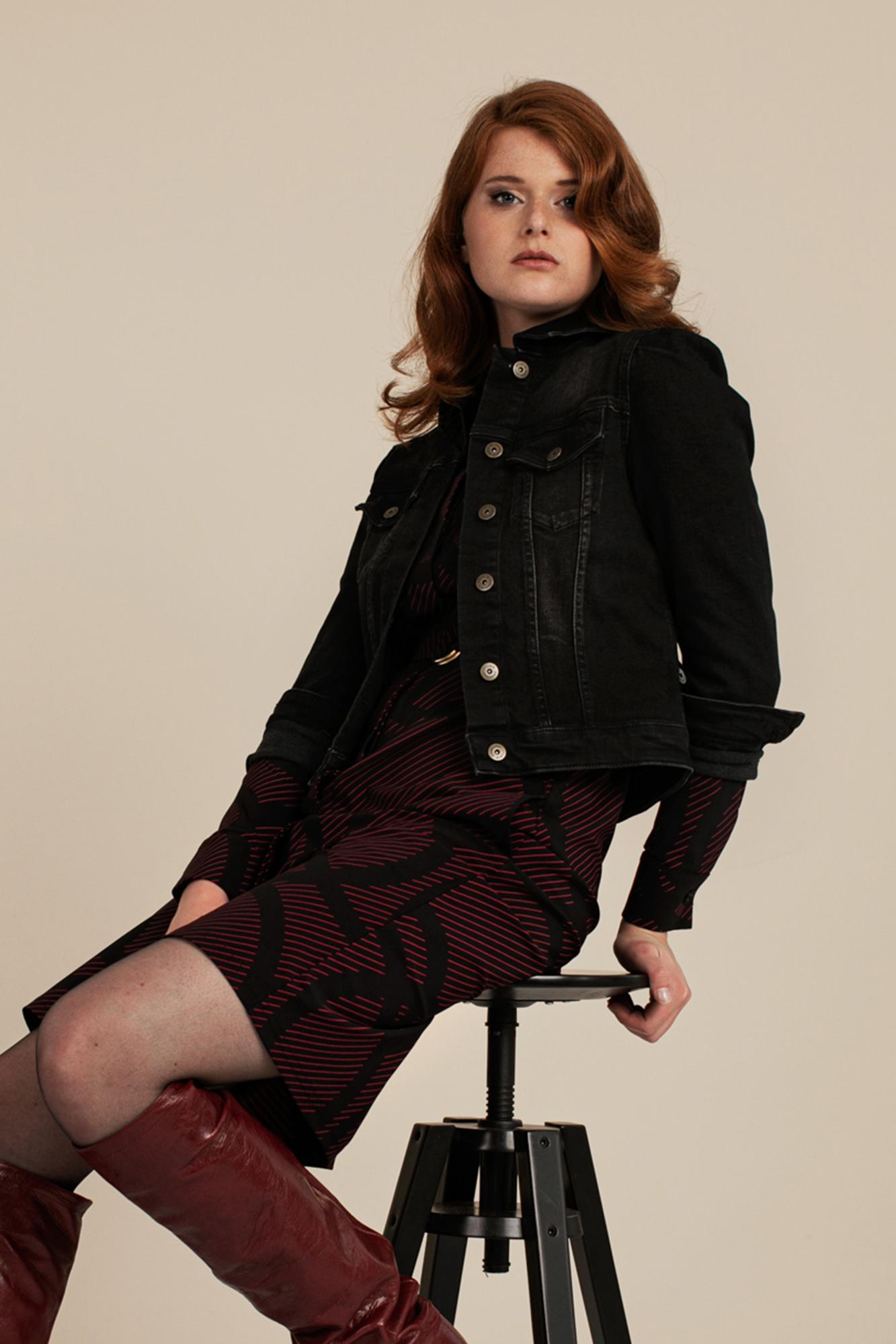 Sissy Jeans Jacket - Black
