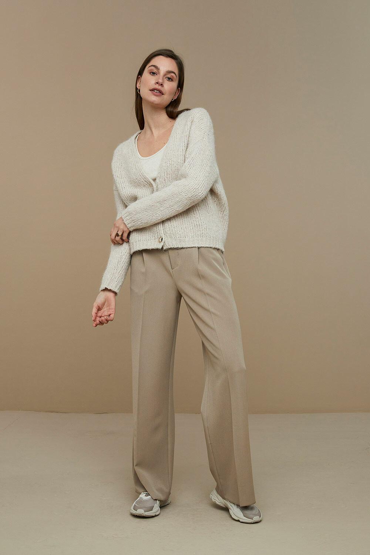 Classy Pant New - Clay